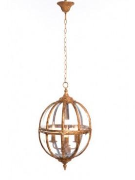 LAMP TECHO 37*37*62cm GOLDEN QJA5916-1114AD